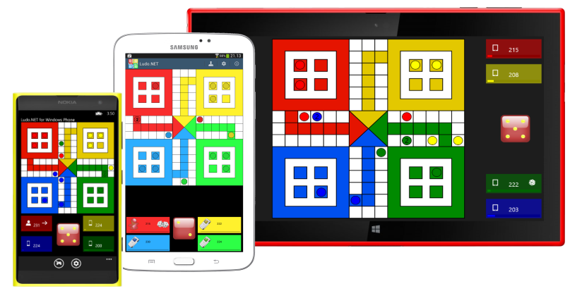 Ludo.NET on all devices